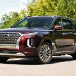 2020 Hyundai Palisade Burgundy