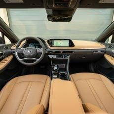2020 Hyundai Sonata Limited Dashboard