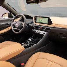 2020 Hyundai Sonata Limited Dashboard Side View
