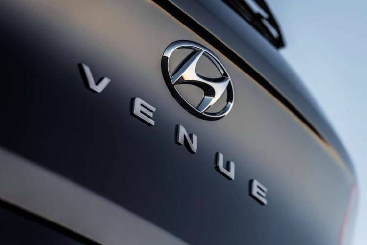 2020 Hyundai Venue Rear Logo