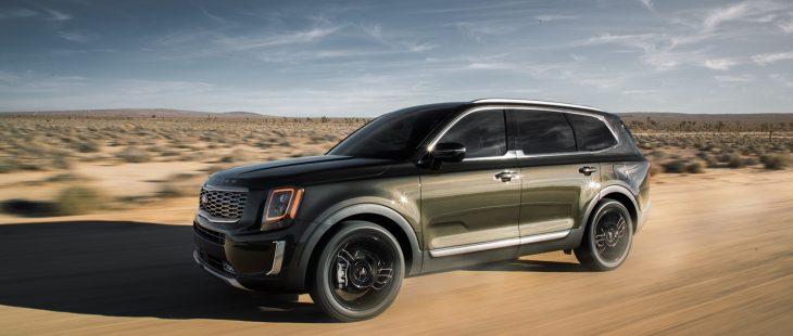2020 Kia Telluride Driving