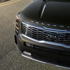 2020 Kia Telluride Hood Badge