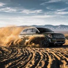 2020 Kia Telluride In Sand Dunes