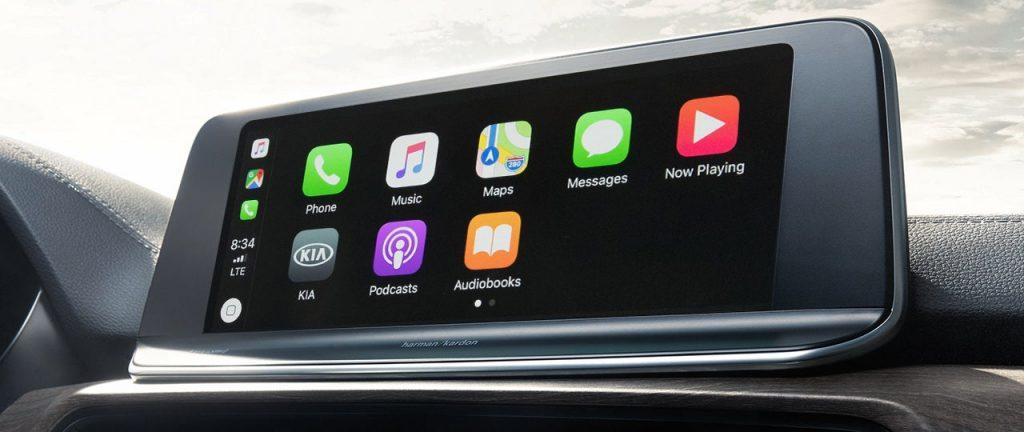 Kia Telluride Apple CarPlay