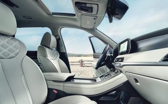 Hyundai Palisade Leather Interior